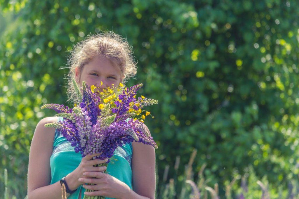 Frühlingsduft fördert köerperliche Aktivierung